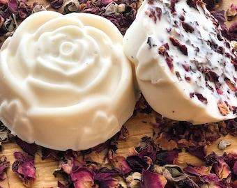 ROSE + GERANIUM SOAP