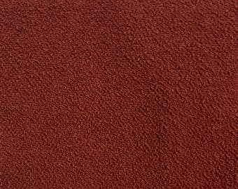 Rust Solid - Upholstery Fabric By The Yard