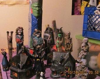 Halloween: Ceramic Halloween set