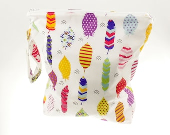 Ready to ship!Feather Wet Bag