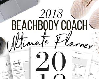 2018 Beachbody Coach Ultimate Business Planner Bundle