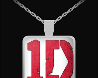 ONE DIRECTION Square Pendant Necklace