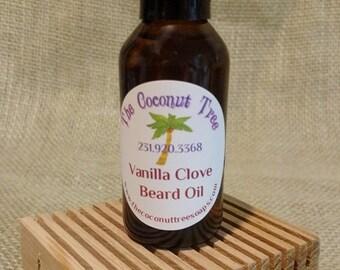 Vanilla Clove / Scented Beard Oil / Beard Conditioner / Beard Repair / Beard Softener / Beard Balm / Beard Tonic