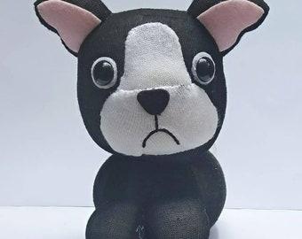 French Bulldog sock doll