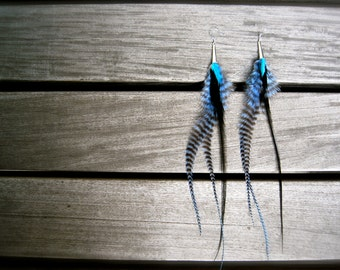fun feather earring