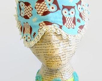 Cute Owls Sleep Mask, Spa Mask, Eye Sleep Mask, Travel Mask, Insomnia,