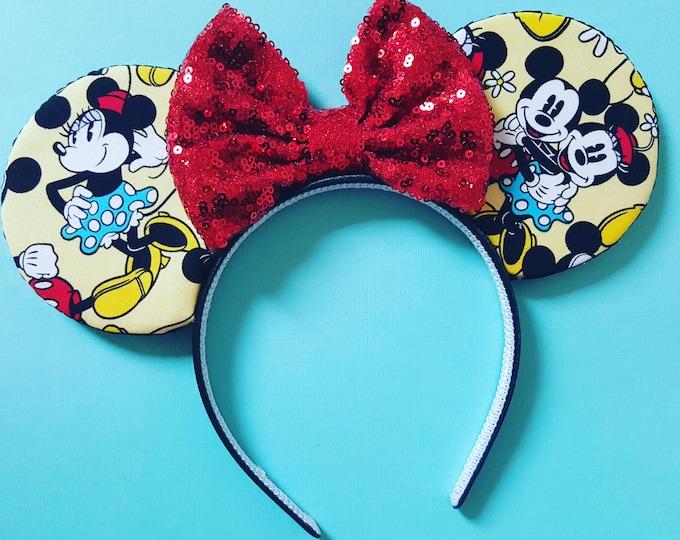 Mouse Ears Classic Mouse    Mouse Ears    Mouse Ears Headband   Mouse Ears    Sparkle Mouse Ears    RTS