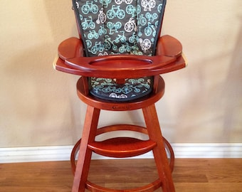 Graco Wooden High Chair Cover (Design Your Own)