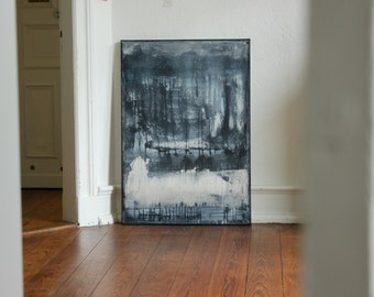 Abstract art, acrylic painting, 70 cm x 100 cm title
