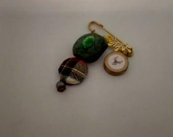 Scottish brooch or kilt pin