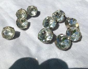 Glass Rhinestone Button collection