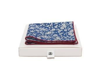 de MORÉ - Capri blue Pocket square