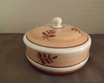 Hand Painted Trinket Box - Marked