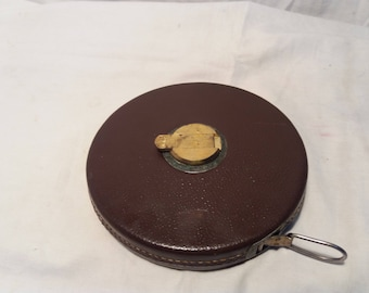 Vintage Metal Measuring Tape - 50m. - NEW.Brand:KINEX - CZECHOSLOVAKIA