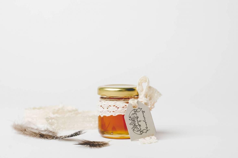 Honey Wedding Favors Boho Rustic Personalised Wedding Gift