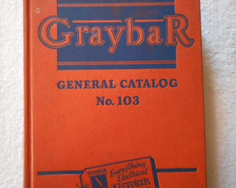 Sale 15% off - Greybar General Catalogue # 103 (1948) 1116 pages