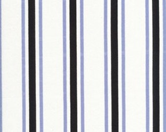 Blue and Black Stripe Valance-Ready to ship