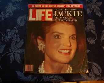 Life Magazine Featuring Jackie Onasis, July 1989