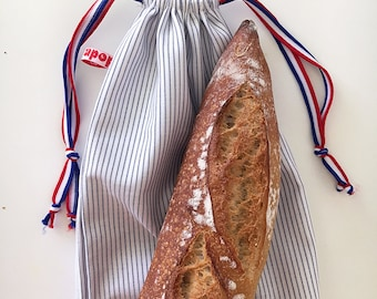 baguette bag, made in France, by Apop