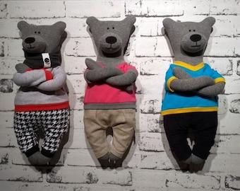 Teddy bears, stuffed bears, bears with clothes
