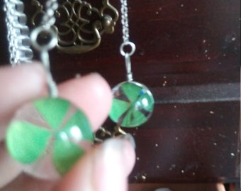 Four leaf clover earrings***must go***