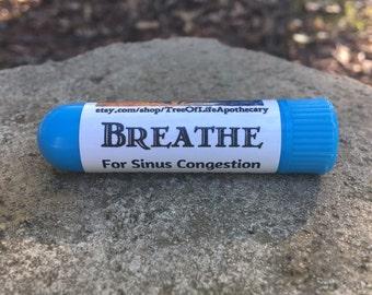 Breathe Inhaler For Sinus Congestion