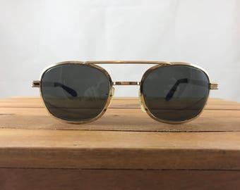 Airco USA Vintage Aviator Sunglasses
