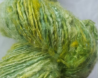 100 g hand dyed banana yarn vegan