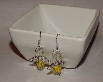 Harry Potter Flying Snitch Earrings Hogwarts Quidditch