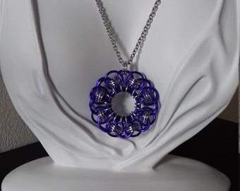 Chainmaille Pendant