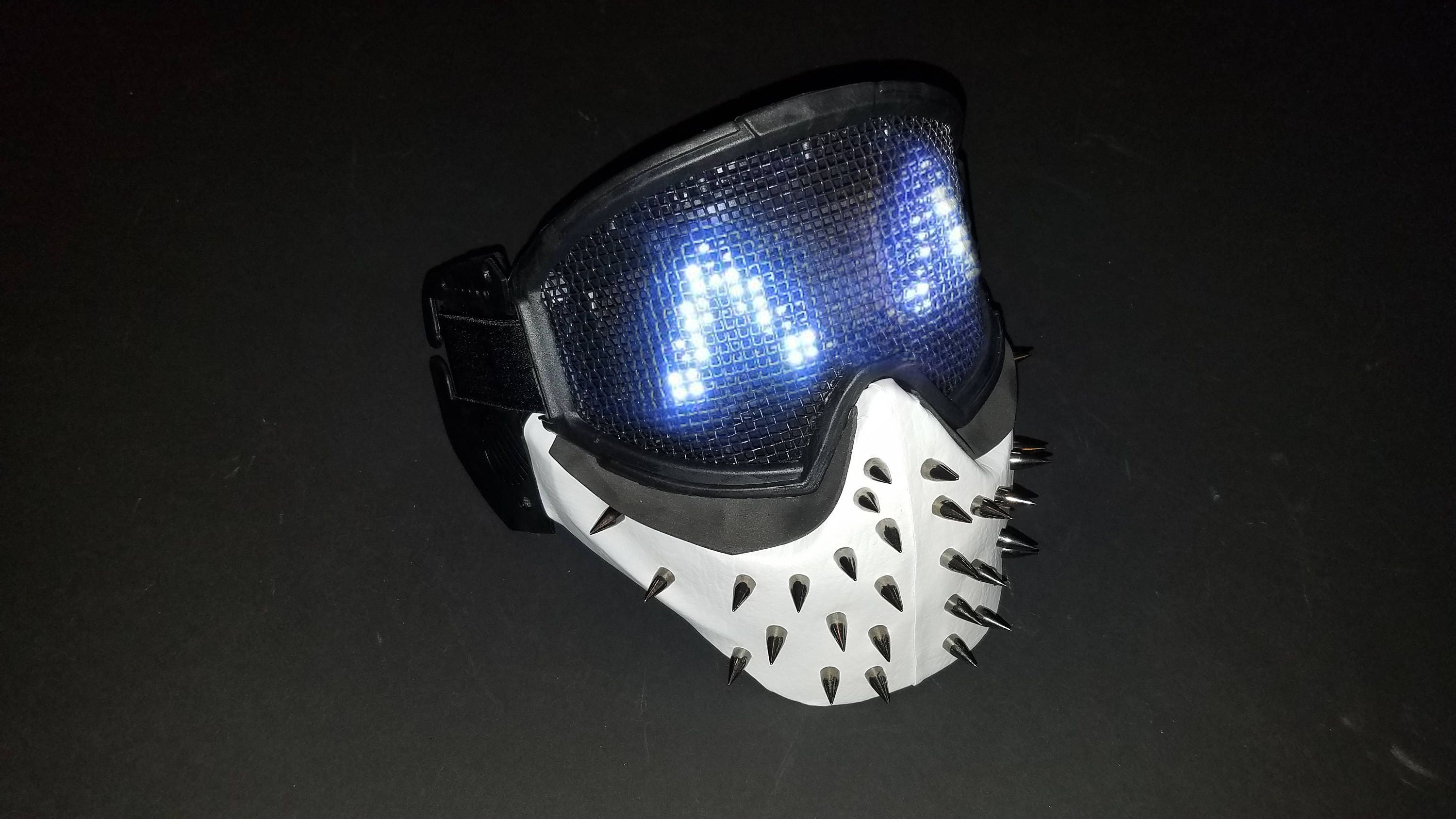 Wrench Mask Watch Dogs  Led