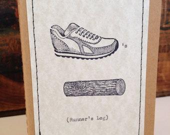 Runner Notebook Runner Log Moleskine® Mini Journal Running Journal - Exercise Journal Mile Notebook Kraft Journal Personalized Notebook
