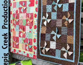 PDF - Charming Baby Quilt and Tote Sewing Pattern