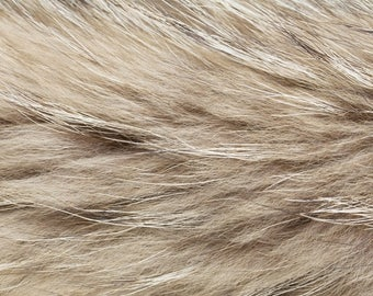 Fabric Fur artificial FU 03 beige meller | Per Metre