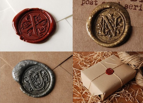 Sealing Wax A To Z Alphabet Alphabet Stamp Head Waxing Stamp