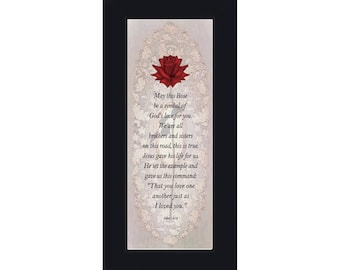 Love One Another, Love God Love Others, Bible Verses Wall Décor, 6x12 7747