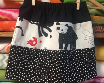 the zoo skirt --- Size 3/4