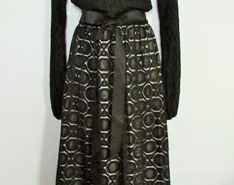 Vintage Young Edwardian Maxi Dress