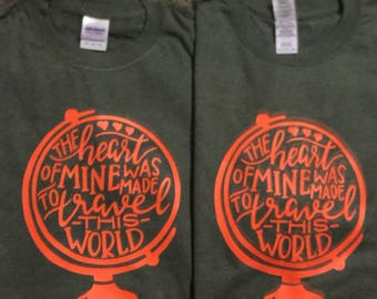 Ttavel the world tshirt
