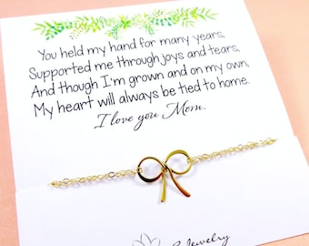 Wedding gift to Mother of the Bride from Daughter, Meaningful Necklace for mom, mother's day gift idea, Wedding jewelry for mom, Otis B
