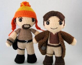 Mal and Jayne - Firefly Amigurumi Pattern PDF - Crochet Patterns