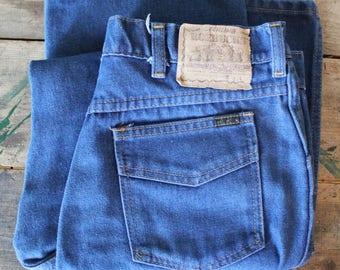 Vintage 60's Sears Roebucks Jeans | Boot Cut | 32x30