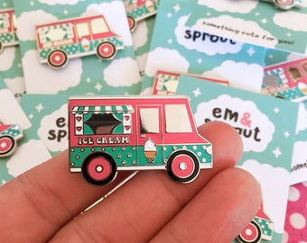 Ice Cream Truck Enamel Pin