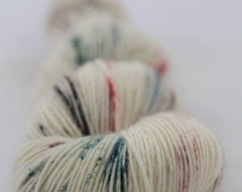 Hand-dyed yarn - sock yarn - superwash - merino - dyed-to-order - speckles - RENAISSANCE