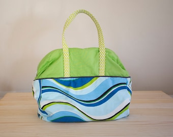 Wavy Weekender Bag