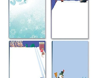 Holiday Notepads - 4 Funny Christmas Notepads - 612