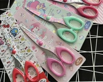 30% off Just get from Japan Sanrio Limited Edition Kitty/Melody/Twin Stars Scissors- perfect for weekly planner