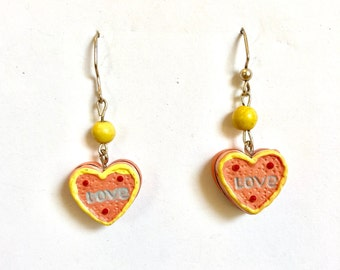 Love Cake Charm Earrings