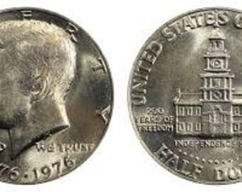 Half Dollar Coin Ring