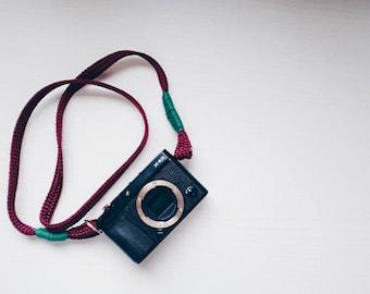 Tracolla fotocamera Mirrorless o Reflex - Cinturino Cinghia Made in Italy - Vintage
